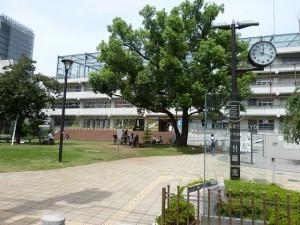 会場となった3331 Arts Chiyoda。メインギャラリーでは八谷和彦氏の「OpenSky 3.0」も実施中